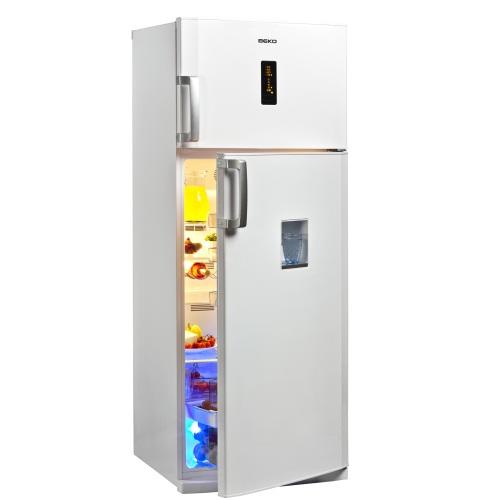 frigider no frost beko dden507wd. Black Bedroom Furniture Sets. Home Design Ideas