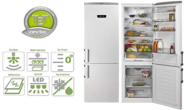 Combina frigorifica Arctic AK366NFS+