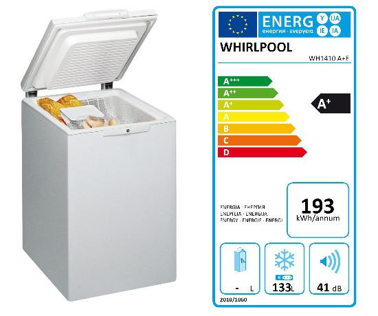 Lada frigorifica mica si ieftina – Whirlpool WH1410A+E 6th Sense