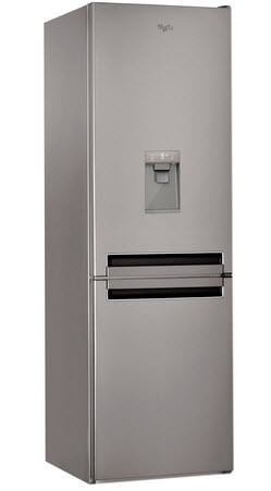 combina frigorifica no frost whirlpool BSNF 8451 OX AQUA